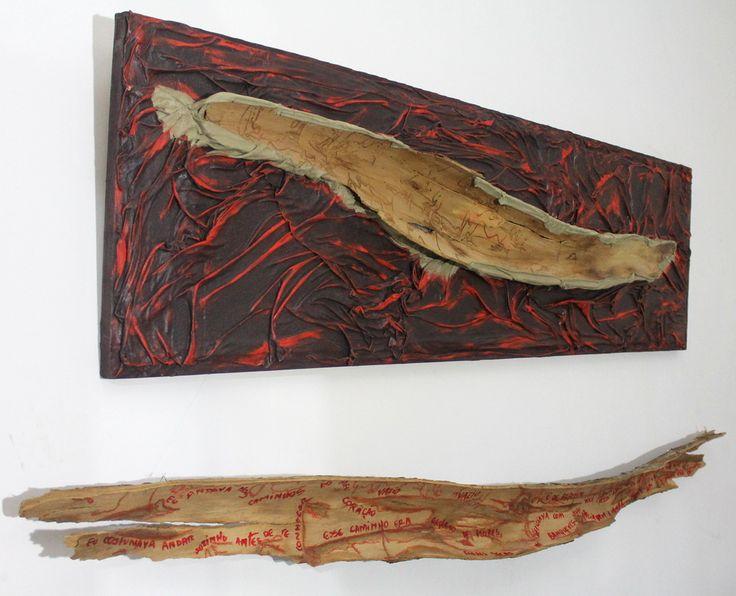 Tridimensionais - grace ivo SEIVA, técnica mista, 0,80x2,20x17 m, 2014