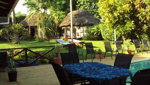 Samoan Outrigger Hotel - best place for breakfast #samoa