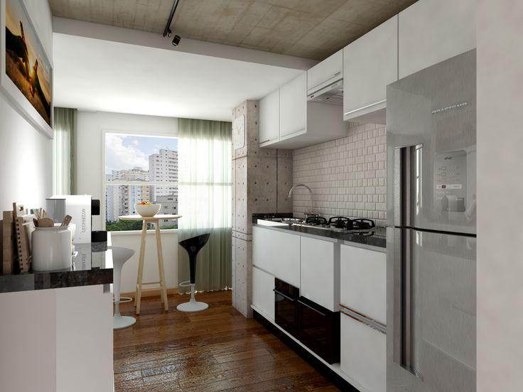 Cozinha - Apartamento Conceito