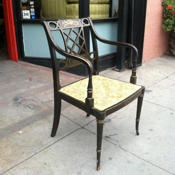 SOLD. Vintage ChairsFrench StyleArm Chairs1950s