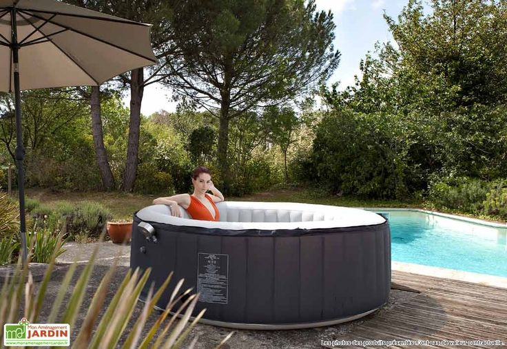 25 best ideas about jacuzzi gonflable on pinterest On jacuzzi exterieur 6 places