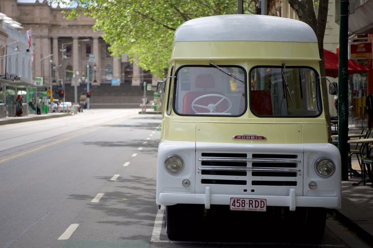 Grace the vintage ice cream truck Melbourne