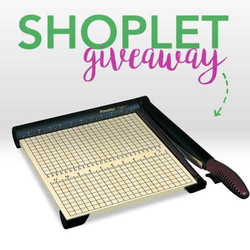 Enter for a chance to Win a Martin Yale Sharpcut Paper Trimmer from Shoplet. Bring your productivity to a whole new level with this awesome prize.