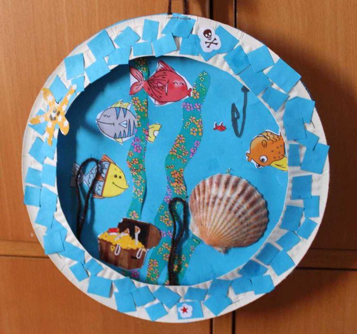 17 best images about paper plate assiettes en carton on - Activite manuelle assiette en carton ...