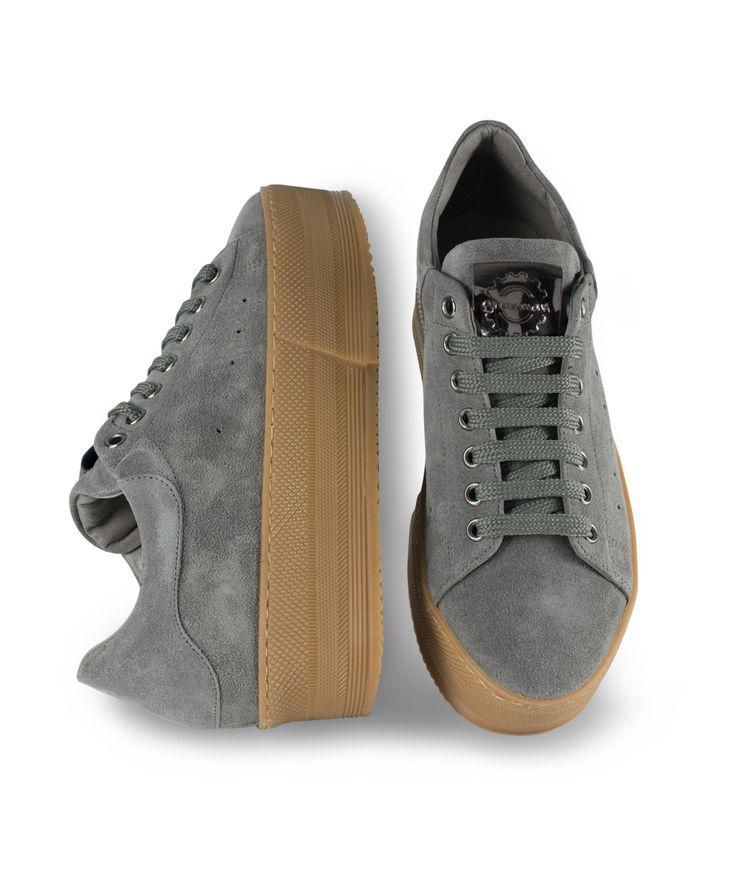 GRUMMAN sneaker for comfy & stylish walks... Grey