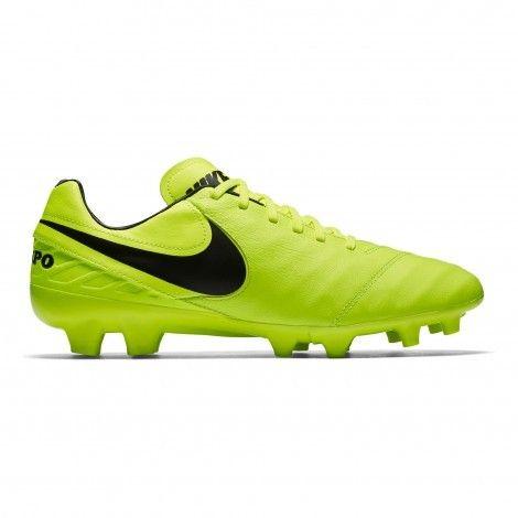 #Nike Tiempo Mystic V FG 819236 #voetbalschoenen volt black De Wit Schijndel