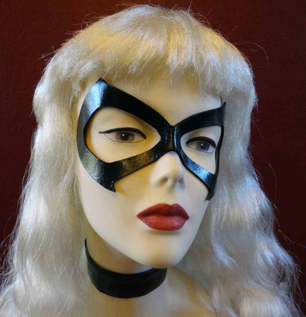 Black Cat (Felicia Hardy) Cosplay Mask