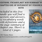 Are you tired of teaching the same books every year? I always like to teach at least one or two new books every year. Divergent by Veronica Roth is the first book in a trilogy (the third books comes out in the fall) set in the future. This young adult book has often been compared to the novel The Hunger Games. The film is going to come out in 2014 and the popularity will increase even more when it does.