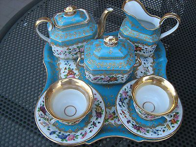 servizio da caffè in porcellana fine '700