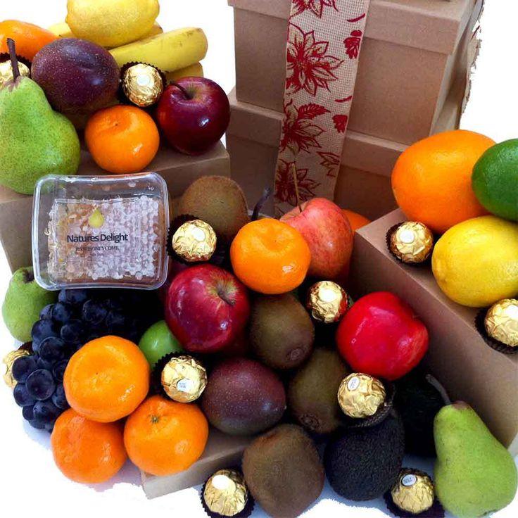 15 best fruit tower gifts images on pinterest brisbane fruit igiftfruithampers fruit tower gift with raw honey ferrero chocolate 10500 negle Choice Image