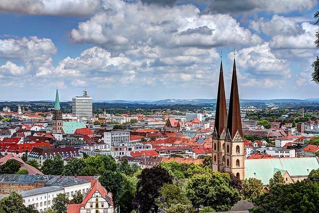 Bielefeld Germany. My birthplace
