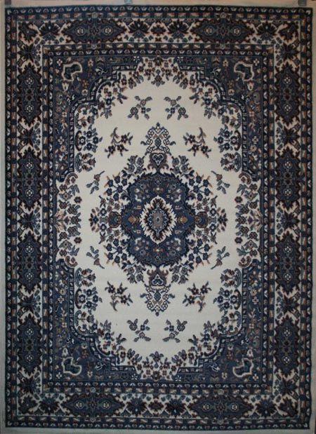 White Rug On Carpet