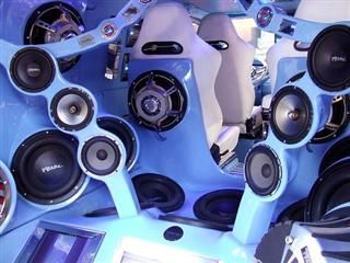 Bing : subwoofer competition car show