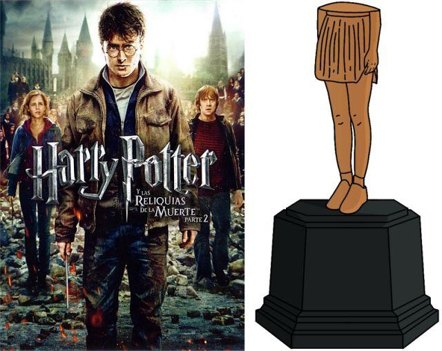 Con la falda remangada: Harry Potter con la falda remangada: TOP pelis.