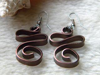 Bijoux en fil d'aluminium, bagues, boucles d'oreilles, colliers, bracelets fait main