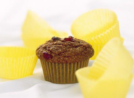 Muffins aux bananes, raisins et son d'avoine recette | Plaisirs laitiers