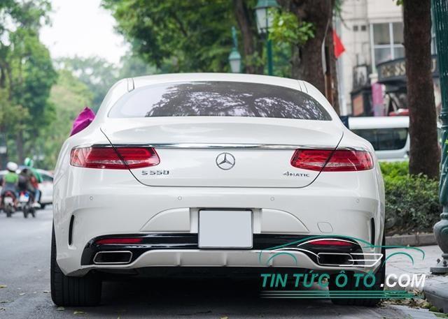 Mãn nhãn với xe Mercedes S550 4MATIC Coupe độc nhất Việt Nam
