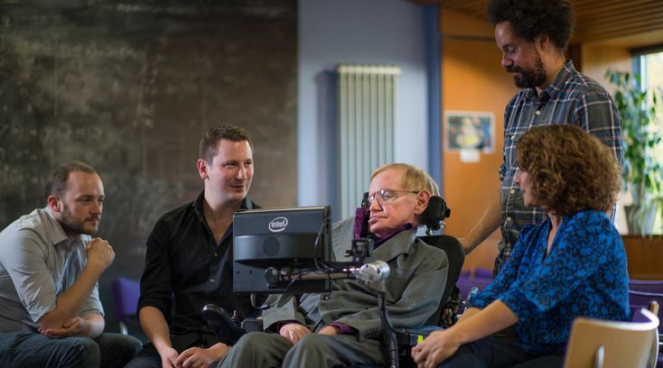 The secrets of the tech that helps Professor Stephen Hawking talk and write is revealed by the renowned academic and partners SwiftKey and Intel.