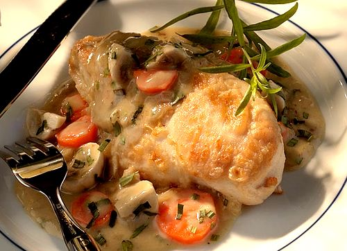 Comforting Chicken Fricassee