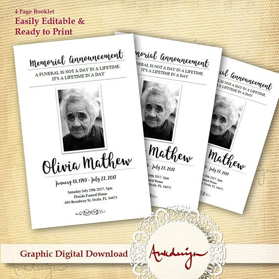 The 25+ best Funeral cards ideas on Pinterest Memorial service - memorial card template