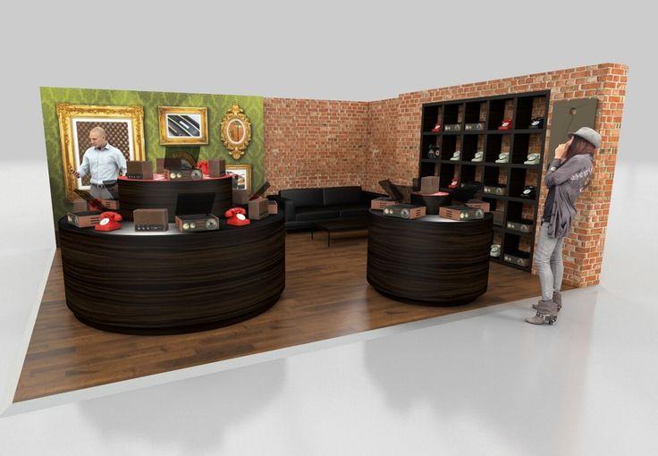 6m x 5m exhibition stand design