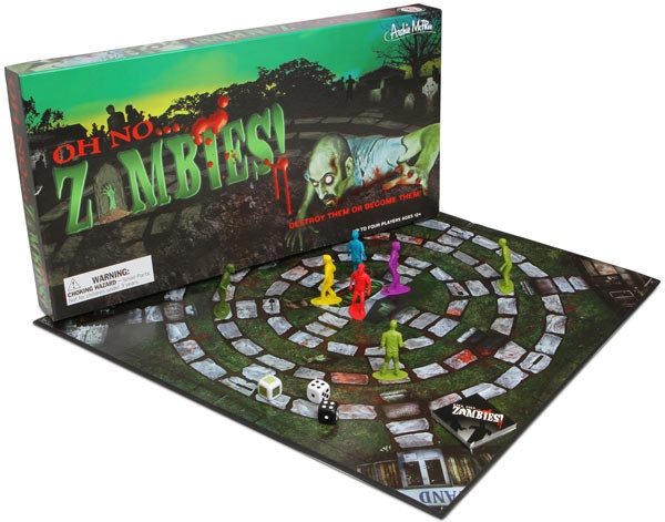 ThinkGeek :: Oh No . . . Zombies! Board Game