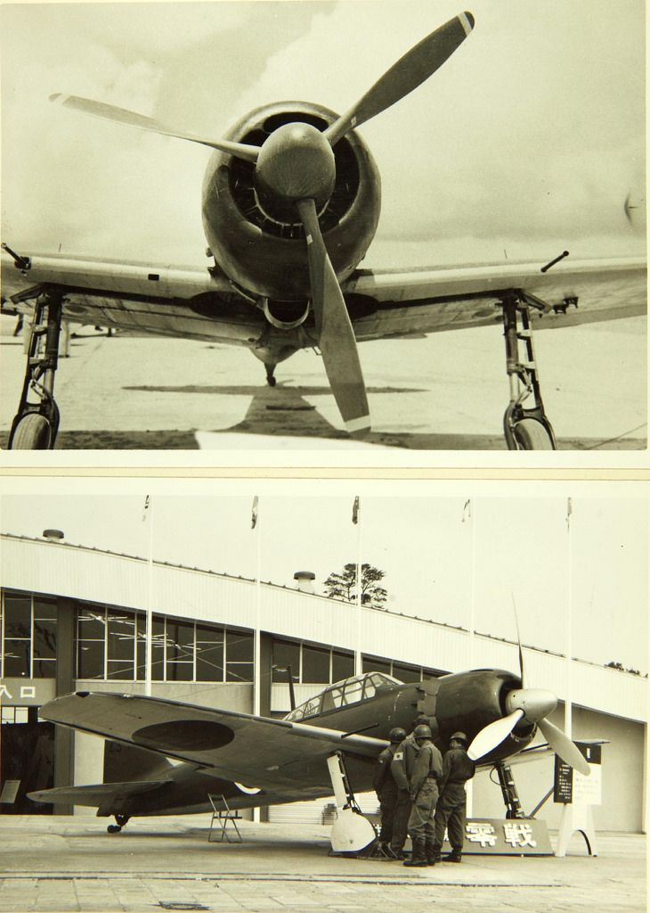 Vintage aircraft zero phrase