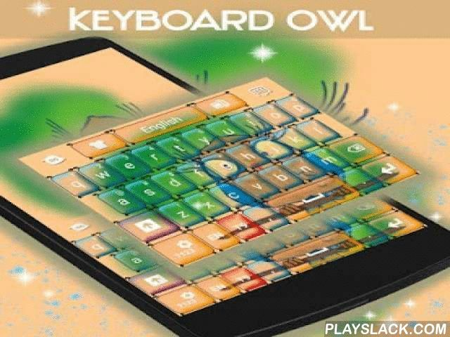 """Keyboard Owl  Android App - playslack.com ,  We zijn erg blij om u ooit presenteren de liefste thema: KEYBOARD UIL! DOWNLOAD Keyboard Uil NU en laat dit schattige baby uil nemen controle over uw smartphone scherm!- Voor de installatie, voert u de volgende 3 stappen: Openen na downloaden, drukt u op """"Instellen als Active Theme"""" en selecteer het thema van de volgende pagina!- De verbazingwekkende HD screenshots wij bereid zullen u laten zien hoe ongelooflijk dit thema zal kijken op uw…"""