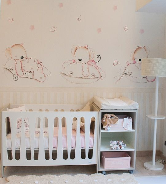 25 best ideas about mural infantil on pinterest for Murales habitacion bebe