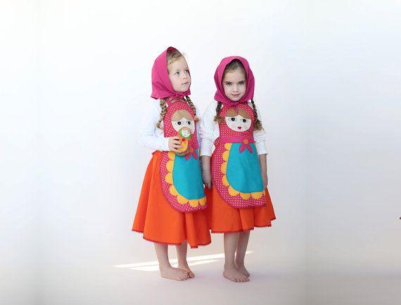 Embroma el traje traje de muñeca rusa regalo por inbalcarmistudio