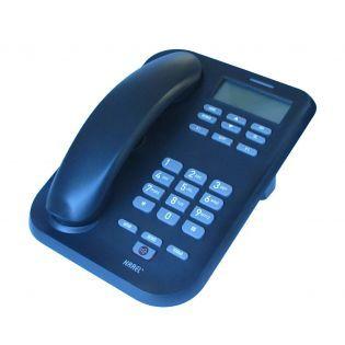 Kablolu Masaüstü Telefon Caller id Handsfree Siyah