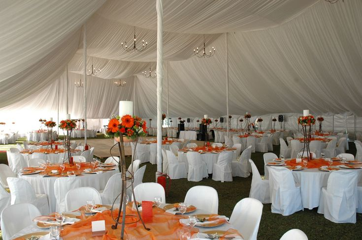 African Wedding Decorations: Hiring A Wedding Tent Or Marquee For Your Wedding In South