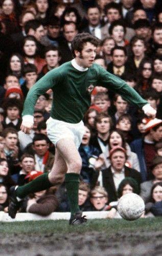 Eric McModie Northern Ireland 1971