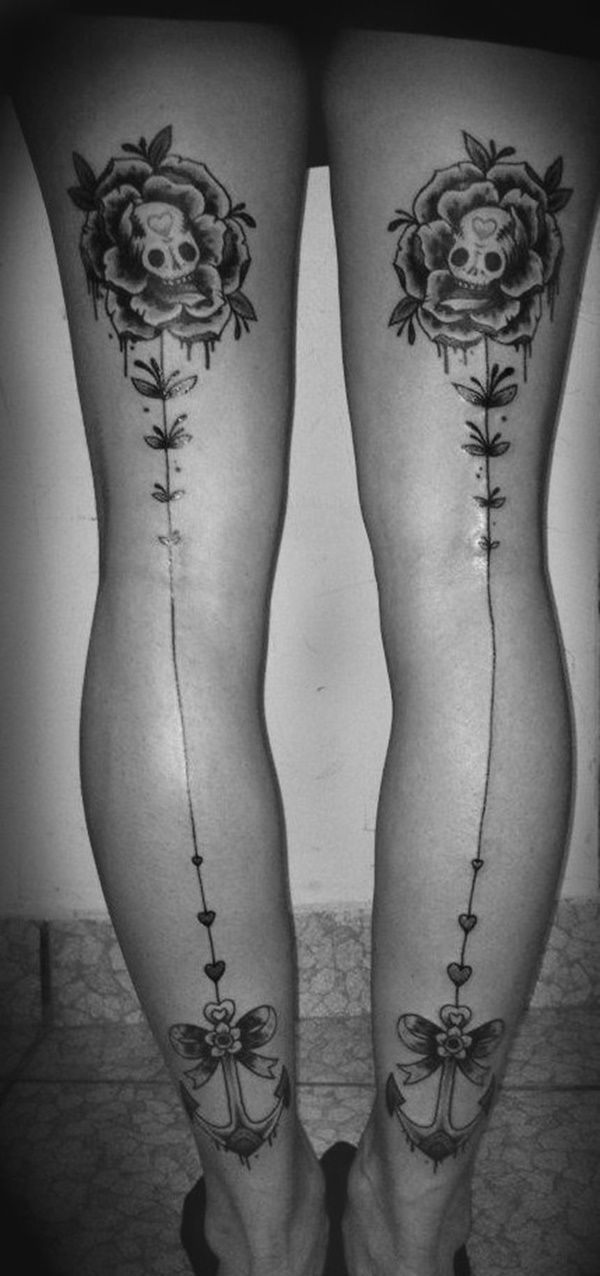 25 best ideas about back of thigh tattoo on pinterest for Tattoos on back of thighs