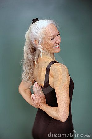 I hopfe I will practise Yoga for the rest of my life! And look like this woman!
