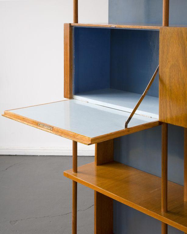 Custom-made bookshelf by Joaquim Tenreiro image 5