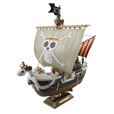 One Piece Anime - Going Merry Ship Model