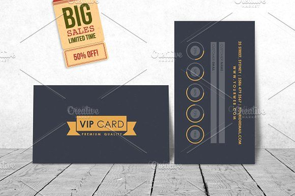 Vip Loyalty Card Template Loyalty Card Template Gift Card