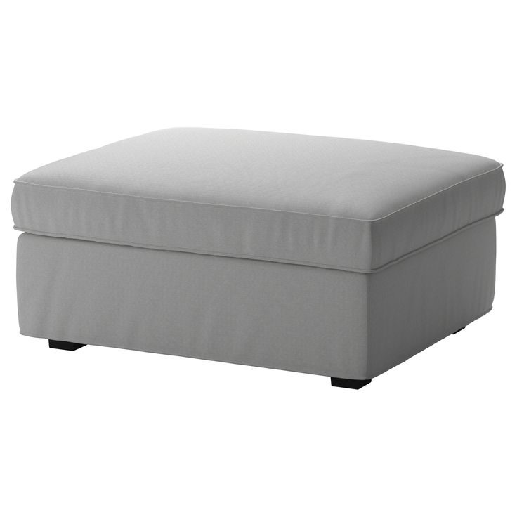 KIVIK Cover for footstool with storage - Orrsta light gray - IKEA - 25+ Best Ideas About Footstool With Storage On Pinterest Storage