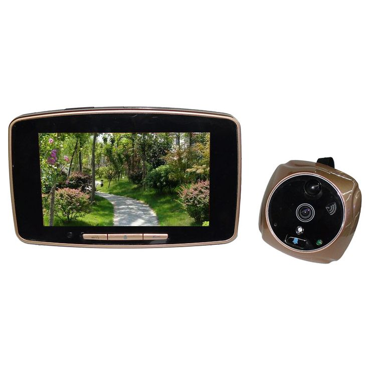 $125.00 (Buy here: http://appdeal.ru/dhj9 ) 5 Inch HD 2MP GSM Wired Video Doorbell GSM Peephole Viewer for just $125.00