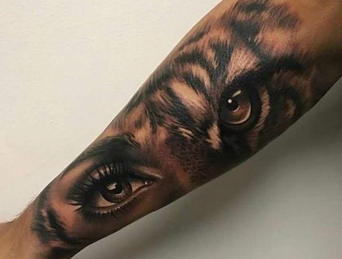 ▷ 1001 ultra coole Tiger Tattoo Ideen zur Inspiration   – tatoo – #coole #Ideen #Inspiration #tatoo #tattoo