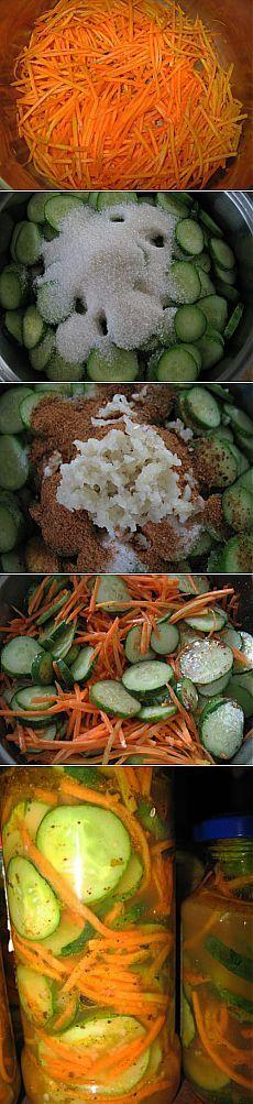 Огурцы по-корейски на зиму | Кладовочка Кухарочки