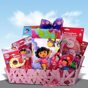 Dora the Explorer Kids Gift Baskets Great Gift Ideas for Children Under 10  $94.95