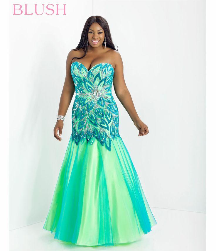 Cheap Plus Size Prom Dresses Lime Green Fashion Dresses