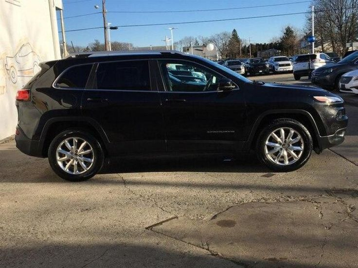 Used 2016 Jeep Cherokee 4WD Limited for sale in East