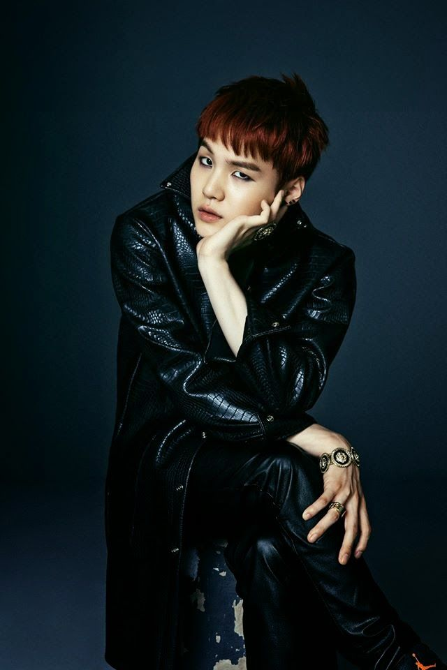 BTS Dark & Wild Photo Concept Suga #1-2