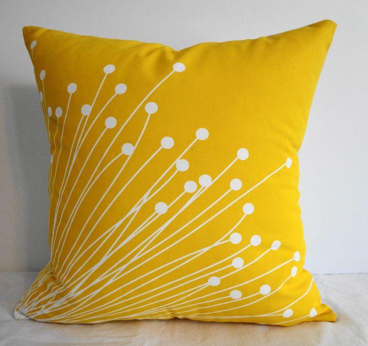 Decorative Pillows Yellow - Cool Teenage Girl Rooms 2015