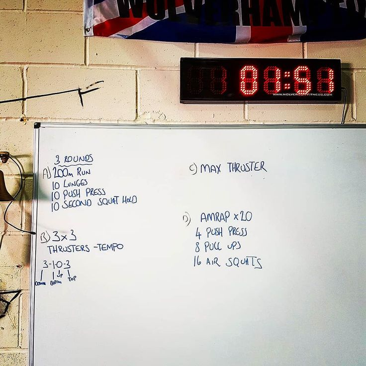 Saturday 14th October WOD @crossfit_wolverhampton  Managed a 65kg Thruster PB. Only been back at Crossfit 2 months and still struggling with front rack so happy with numbers. Enjoyed the WOD even though it was tough  #wod #crossfitwolverhampton #crossfitter #fitnessaddict #fitat40 #365strength #insta #instagram #instagood #saturdayworkout #strength #gainz