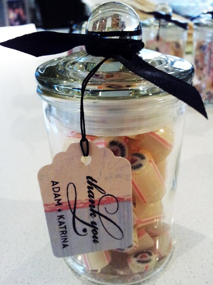 Candy favor & bonbonniere