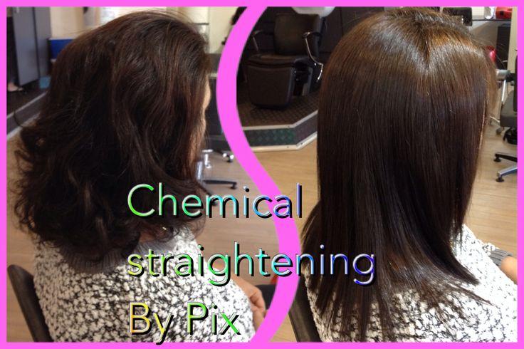 1. Chemical straightening